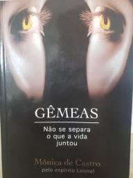 Livro Gêmeas de Mônica de Castro NOVÍSSIMO