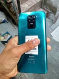 Vendo ou Troco Xiaomi Redmi Note 9 Verde Floresta 64GB Praticamente novo