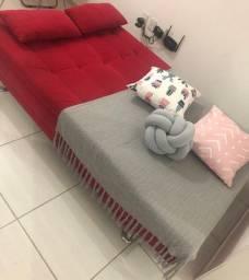 Sofa cama sem marcas de uso