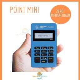 Maquininha de Cartão Point Mini Mercado Pago Sem Mensalidade
