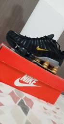 Nike Shox 12 molas primeira linha na caixa