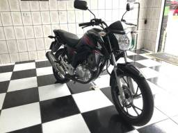Honda Cg Fan 160 preta 2019 único dono