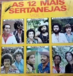 LP AS 12 MAIS SERTANEJAS