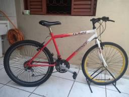 bicicleta aro 26 21 marchas bike top só usar