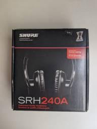 Fone de ouvido Shure SRH240A - Headphone Profissional