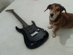 Guitarra Memphis no estylo Jackson ou troco