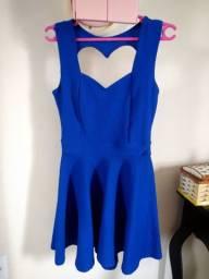 Vestido azul - Festa