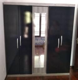 Roupeiro 5 portas com espelho