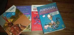 Livros usados para doação