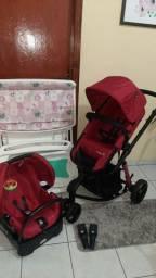 Carrinho Bebê Conforto Banheira