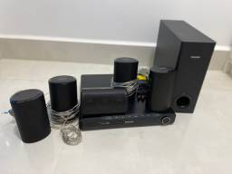 Home Theater Philips - 5 canais 1000w