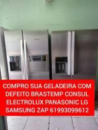 PAGO BEM EM GELADEIRA COM DEFEITO BRASTEMP CONSUL ELECTROLUX PANASONIC LG