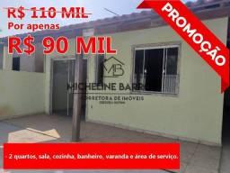 FC/ Casa com 2 quartos à venda em Florestinha, Cabo Frio -RJ