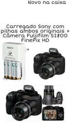 Câmera + Carregador original  novíssima