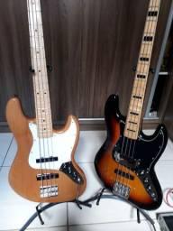 Baixo Sx American Alder - Captadores Fender