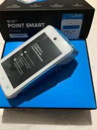Maquineta mercado pago point smart lacrada
