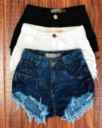 Shorts e saias seminovas