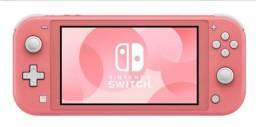 Nintendo Switch lite novo lacrado original 12x sem acréscimo duas cores a escolha !