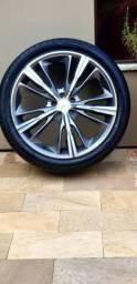 Rodas com pneus - SUPER OFERTA