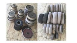 Roda Para Polimento (Kit Com 21 Rodas) - Valor: R$:1.575,00