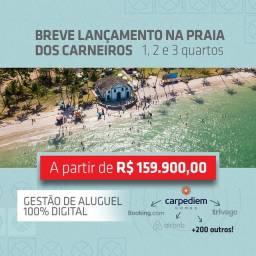 ML - Compre seu imóvel na praia de Carneiro! Studio, 1, 2 e 3 quartos
