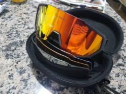 ? Óculos De Ciclismo MTB X-TIGER 5 LENTES (1 DELAS POLARIZADA) PROTEÇÃO UV 400 ORIGINAL