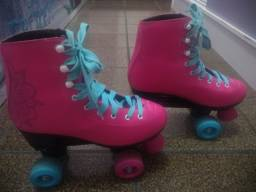 Patins super novo.