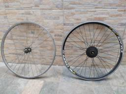Rodas de alumínio aro 26