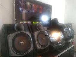 Paredão de som da Sony Genezi