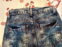 Bermudas jeans infantil pra menino.
