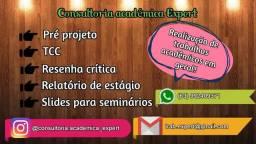 Realização de Portfólios / Tcc/Projeto de ensino/ Slides - Unopar e Anhanguera em geral