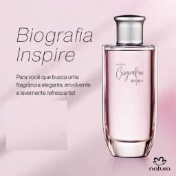 Perfume biografia inspire feminino 100ml edição limitada