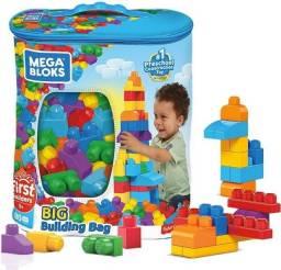 blocos de montar 80 peças grandes