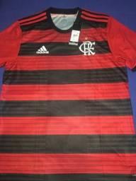 Camisa Flamengo 2018, tamanho M. Impecável