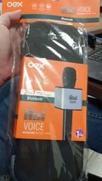 Vendo Microfone Karaokê Com Speaker e Bluetooth
