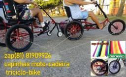 capa raio triciclo