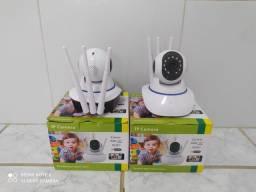 Câmera ip 3 antenas Wifi