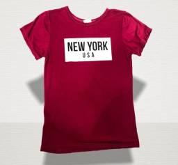 Blusa camisa T-Shirt feminana