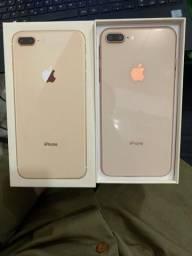 Vendo iPhone 8 Plus 64 gigas impecável sem nenhuma avaria