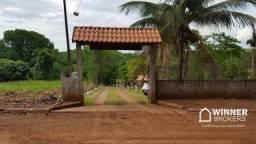 Chácara com 3 dormitórios à venda, 4500 m² por R$ 250.000,00 - Centro - Quinta do Sol/PR