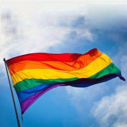 Bandeira do Orgulho LGBTq LGBT - arco-íris 90cm x 150cm