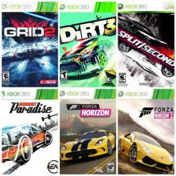 Combo de corrida para Xbox 360 em mídia digital