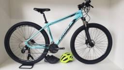 Bike MTB Firts Smitt Aro 29 - 27 Marchas Suspa com trava Remota - 2021