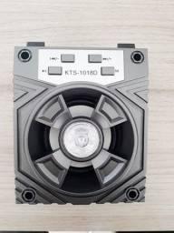 Caixa de Som Bluetooth KTS-1018D com FM e Entrada SD