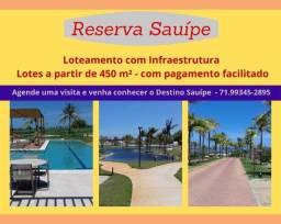 Reserva Sauípe, lotes a partir de 450 m², desfrute do Destino Sauipe com sua família.