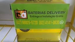 Bateria pioneiro 52 amperes 24 meses de garantia para o Onix