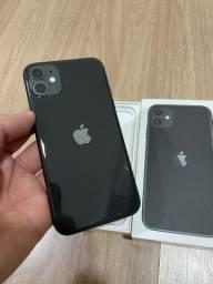 iPhone 11 128gb preto! 3 meses de uso! Praticamente novo