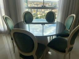 Conjunto mesa e cadeiras sala de jantar