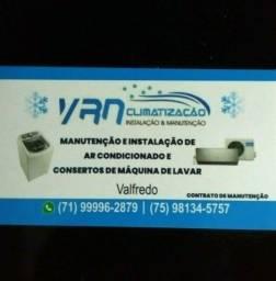 Manutenção e instalação de ar condicionado split em Lauro de Freitas e região!