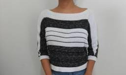 Casaco de tricor feminino tamanho M